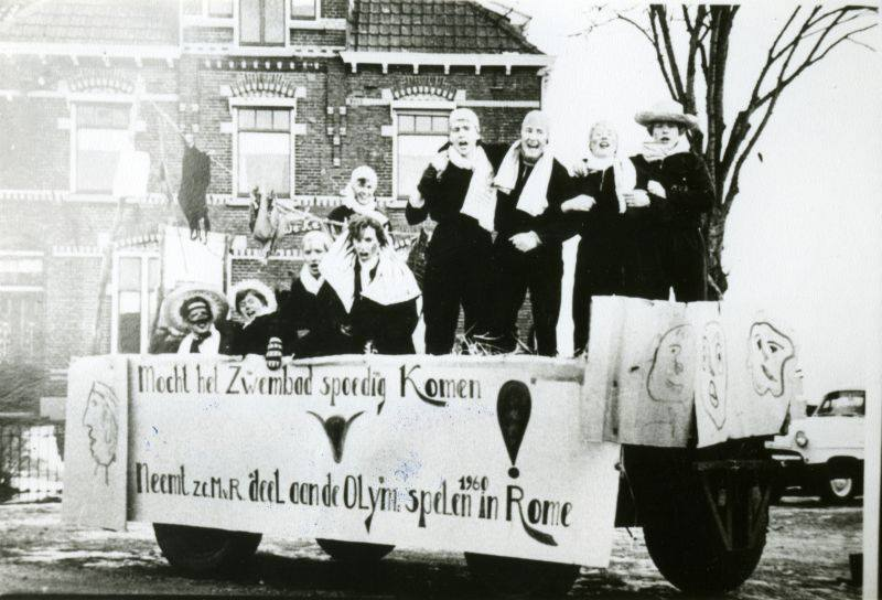 Carnavalsoptocht s Heerenberg 1956 Liemers Museum
