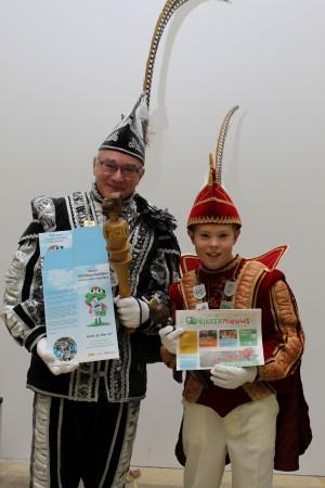 Prinsen van Boemelburcht in actie voor St. Opkikker