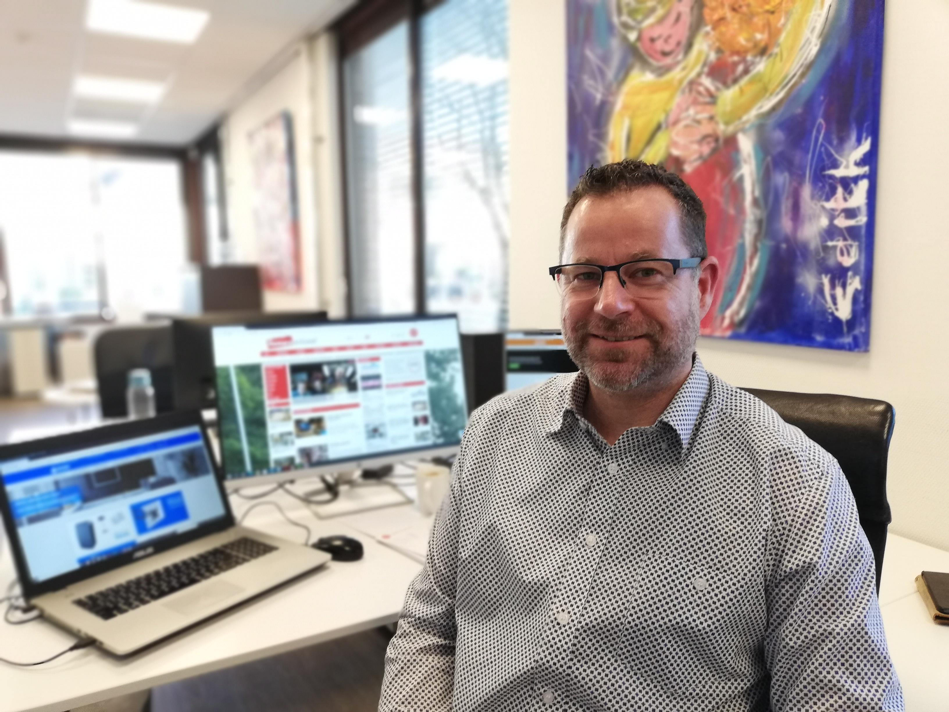 Pascal Lindeman van Fullservice internetbureau Blik op online