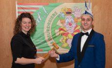 Nieuwe voorzitter voor Carnavalsvereniging de Deurdreiers Groessen