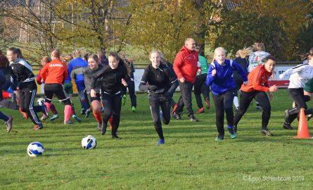 HC'03, GSV'38 en Angerlo Vooruit starten meidenvoetbalschool
